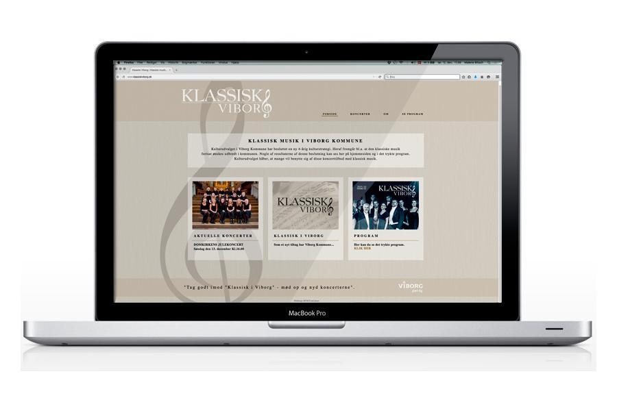 Design og opdatering af hjemmeside